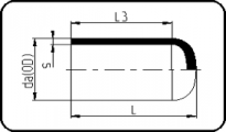 PN25 - End Cap - Long Spigot