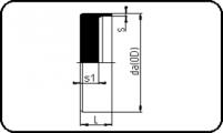 PN25 - End Cap - Short Spigot