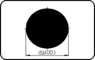 Round Bar - Black - PE 100-RC