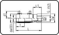 E-Adapter Socket - Steel - Female