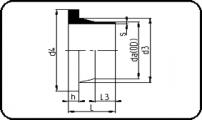 PN25 - Stub Flange - Short Spigot