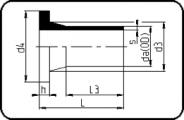 PN25 - Stub Flange AS4087 - Long Spigot