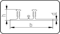 Waterstop Profile 2-Ribs