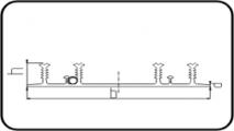 Waterstop Profile 4-Ribs