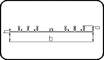 Expansion Joint Profile 6-Ribs